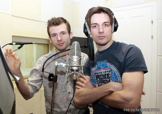 Дмитрий и Владимир Карякины на репетиции