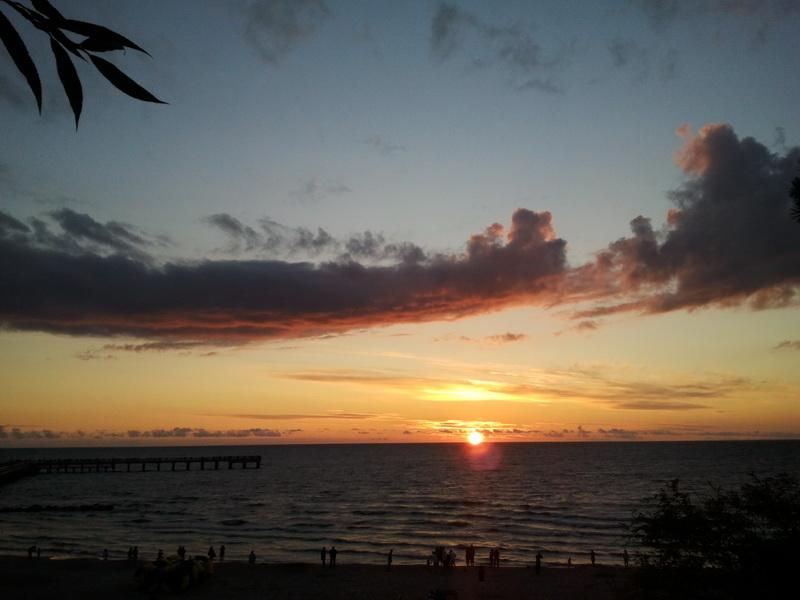 Вечер на Балтийском море