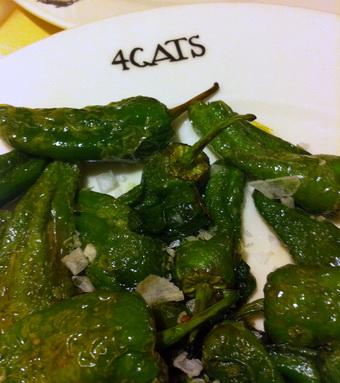 Барселона. Ресторан 4 cats