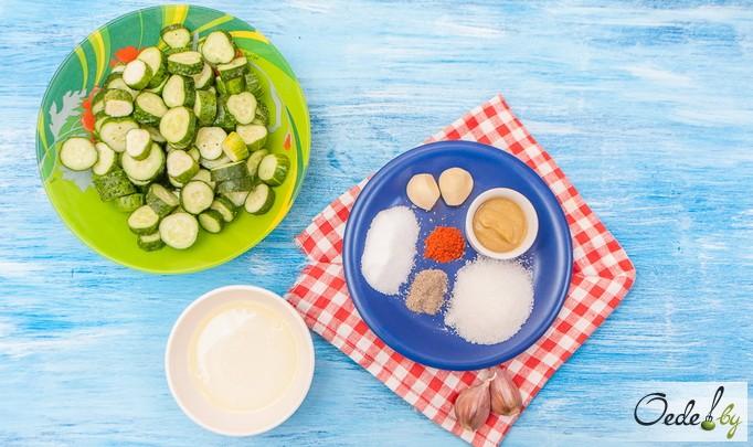 Ингредиенты для остреньких огурчиков от Oede.by