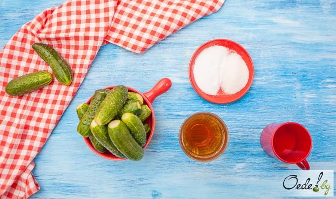 Огурцы приворотные, ингредиенты