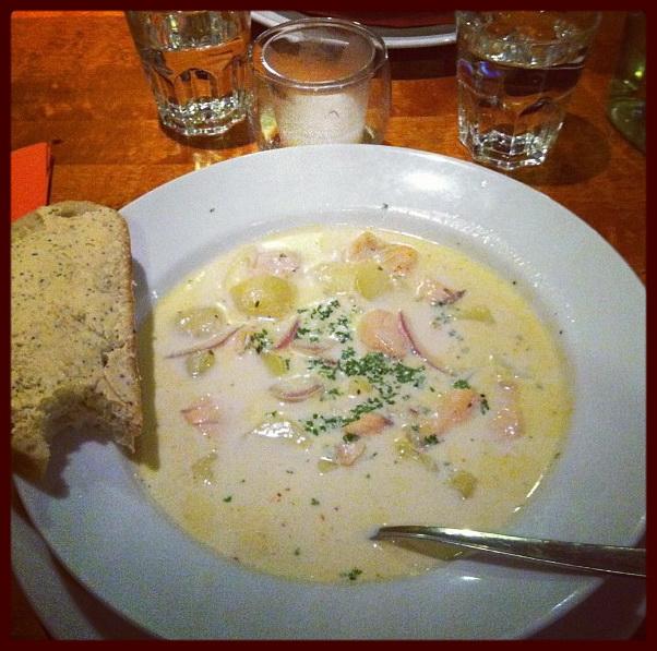 Молочные супы по-фински