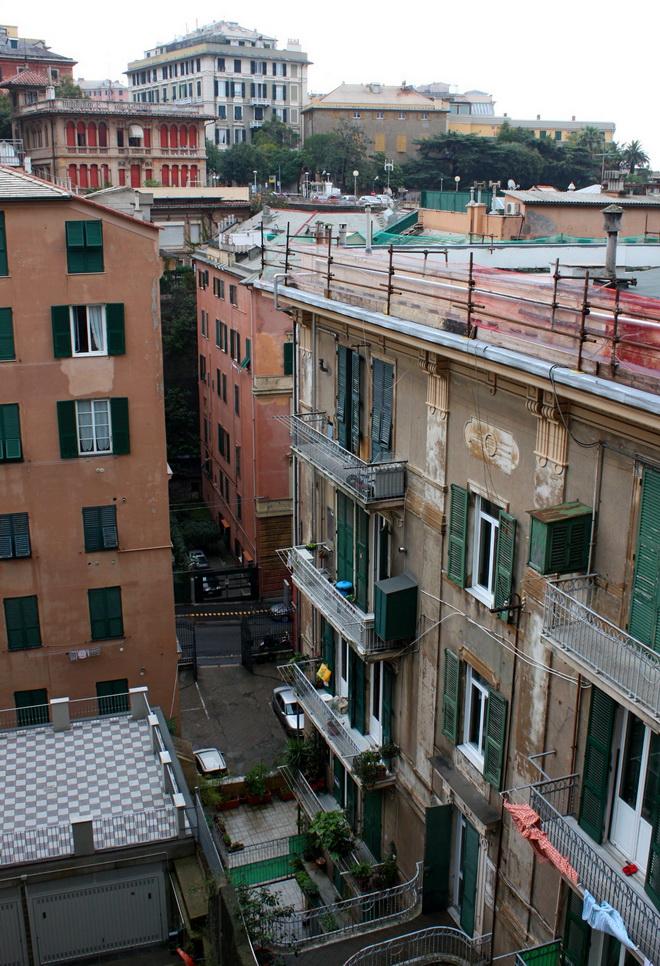 Внутренние дворики Генуи