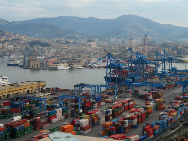 Порт Генуи