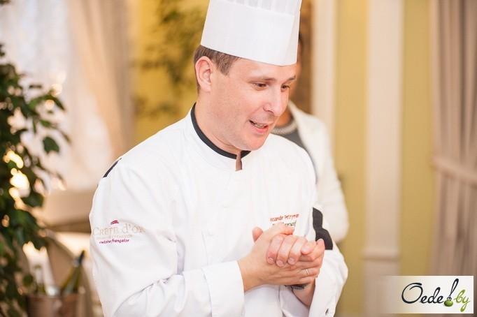 Александр Петриман, шеф-повар ресторан Золотой гребешок