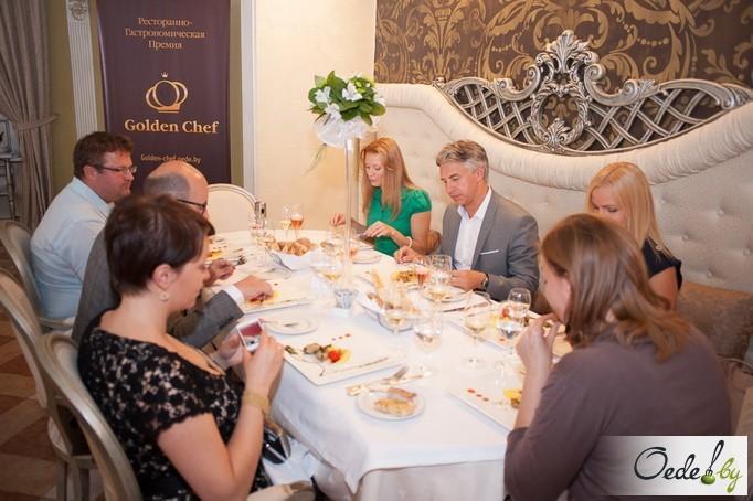 Golden-ужин в столичном французском ресторане «Золотой гребешок» фото 2