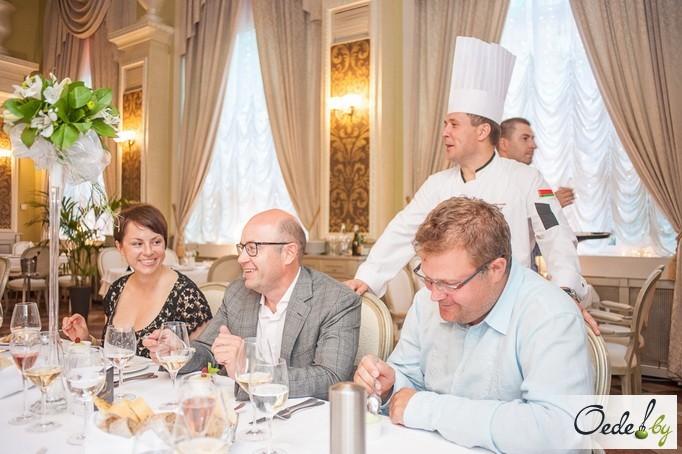 Golden-ужин в столичном французском ресторане «Золотой гребешок» фото 4