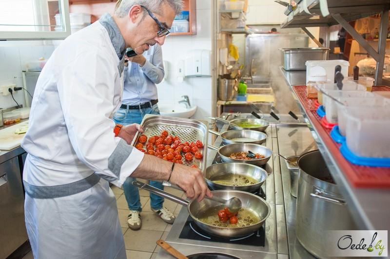 Иньяцио Роза готовит Golden-ужин