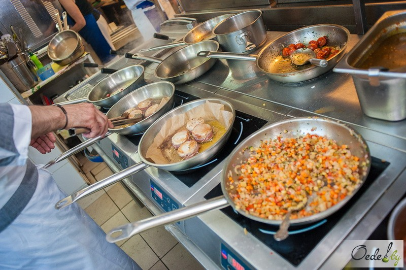 Приготовление блюд от Иньяцио Роза