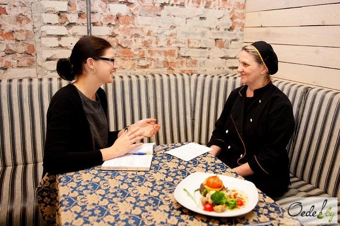 Ирина Гурарье, шеф-повар Loft Café