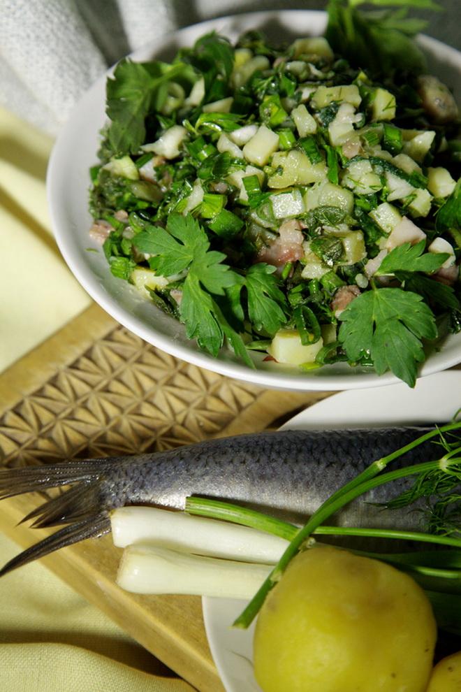 Белорусский весенний салат «Гарда»