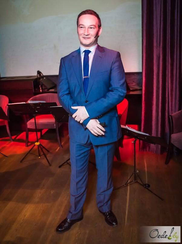 Эван Гранн, посол известного бренда шотландского виски Джони Уокер (Johnnie Walker)