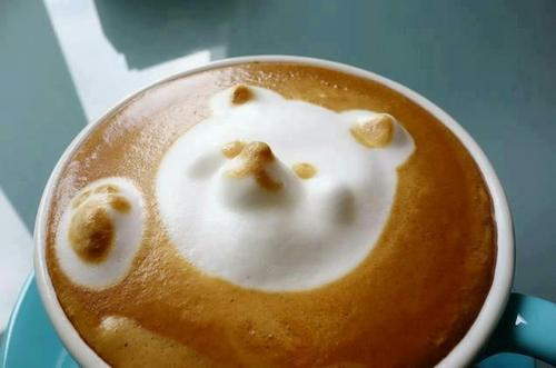 Кофейный 3D-арт фото 1