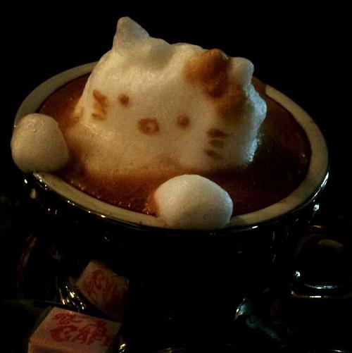 Кофейный 3D-арт фото 5