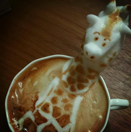 Кофейный 3D-арт фото 4