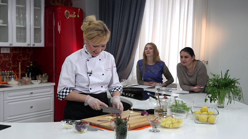 Съемки телепередачи «Кулинарный мастер-класс «О еде!»