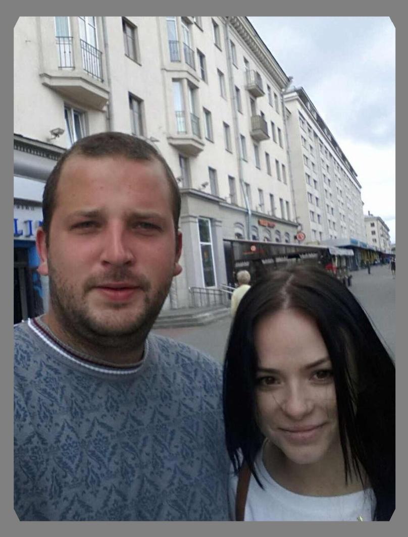 Никита Яненков, продавец автомобилей и Евгения Пестунова, студентка
