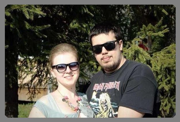 Павел и Яна Заколупкины, семейная пара