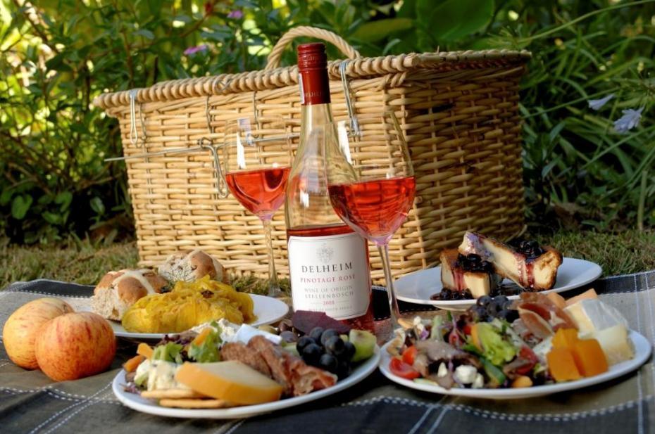 французский пикник еда