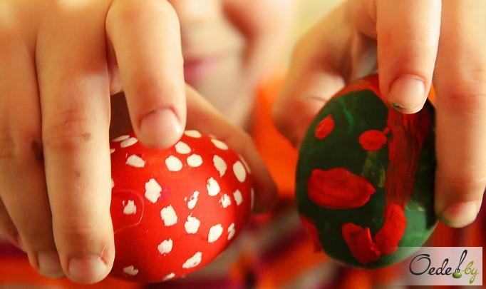 мастер-класс по покраске пасхальных яиц 22