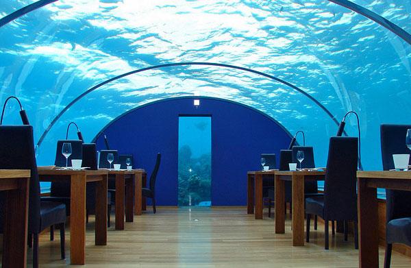 Ресторан под водой Дубай