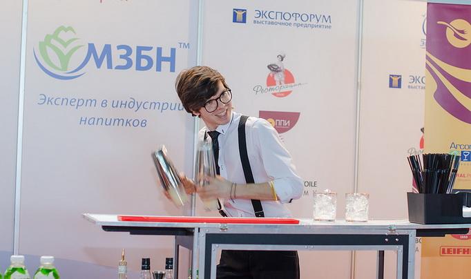 Павел Бебко, бармен, участник конкурса