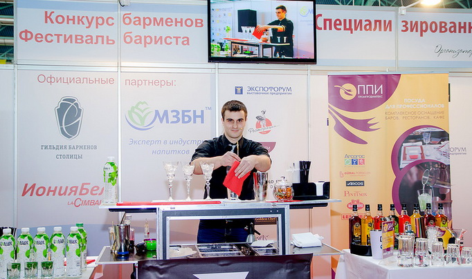 Участник, занявший второе место. Дмитрий Лонгвиненко, бармен клуба «NEXT»