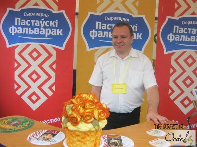 Торт Роза от Поставского молочного завода