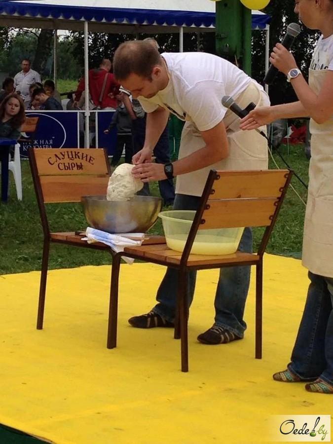 Приготовление сыра моцарелла