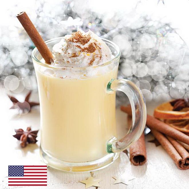 Эггног напиток на рождество в США