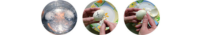 постная варка яиц