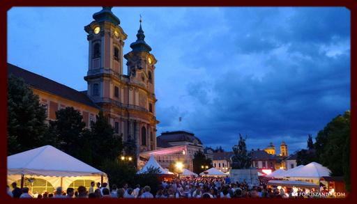 Город Эгер, фестиваль вина