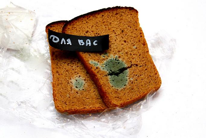 Хлеб через 17 дней