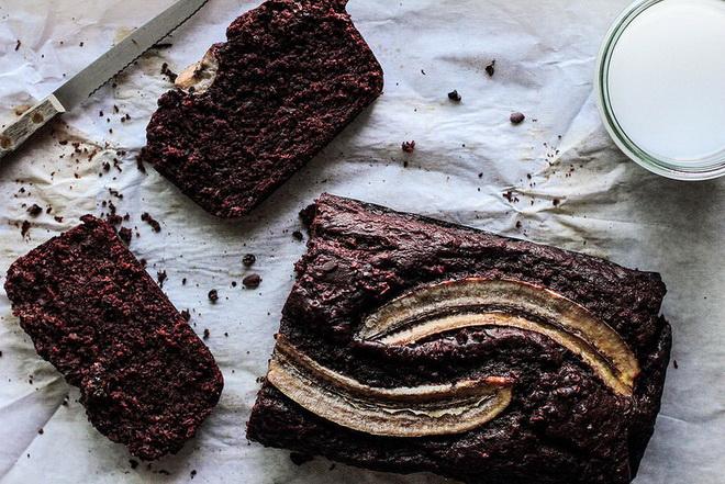 Хлеб бананово-шоколадный