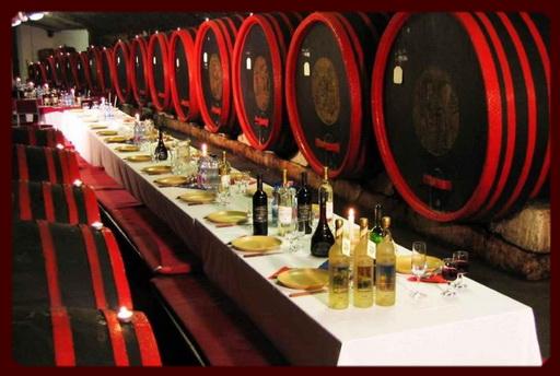 Дегустация вина на Фестивале Бычья кровь