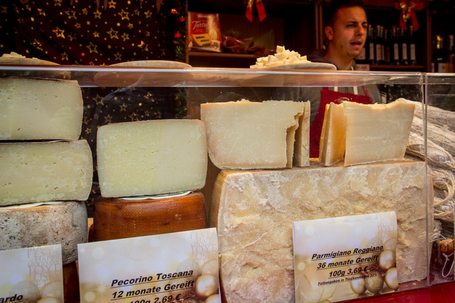 Итальянские сыры на рождество