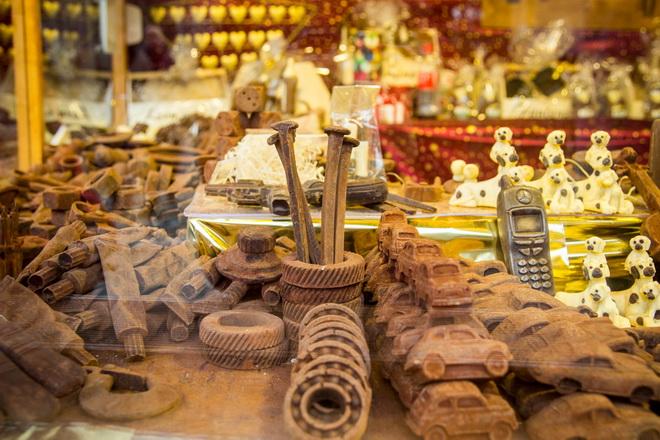 Необычные шоколадные сувениры