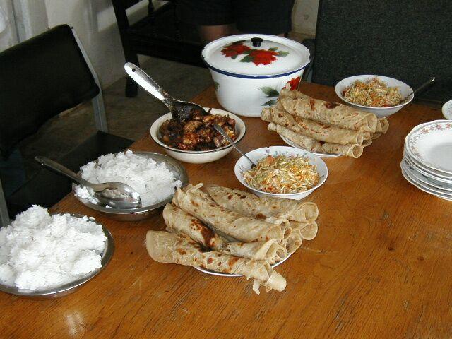 кухня кении