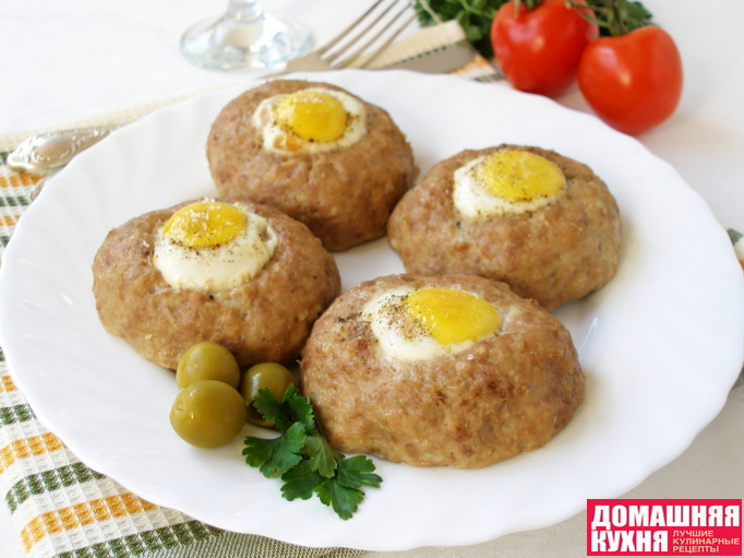 Котлета из фарша с яйцом рецепт пошагово
