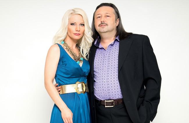 Олег Молчан с супругой певицей Ириной Видовой