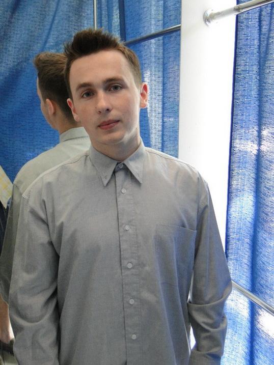 Олег, студент, участник опроса кулинарного портала Oede.by