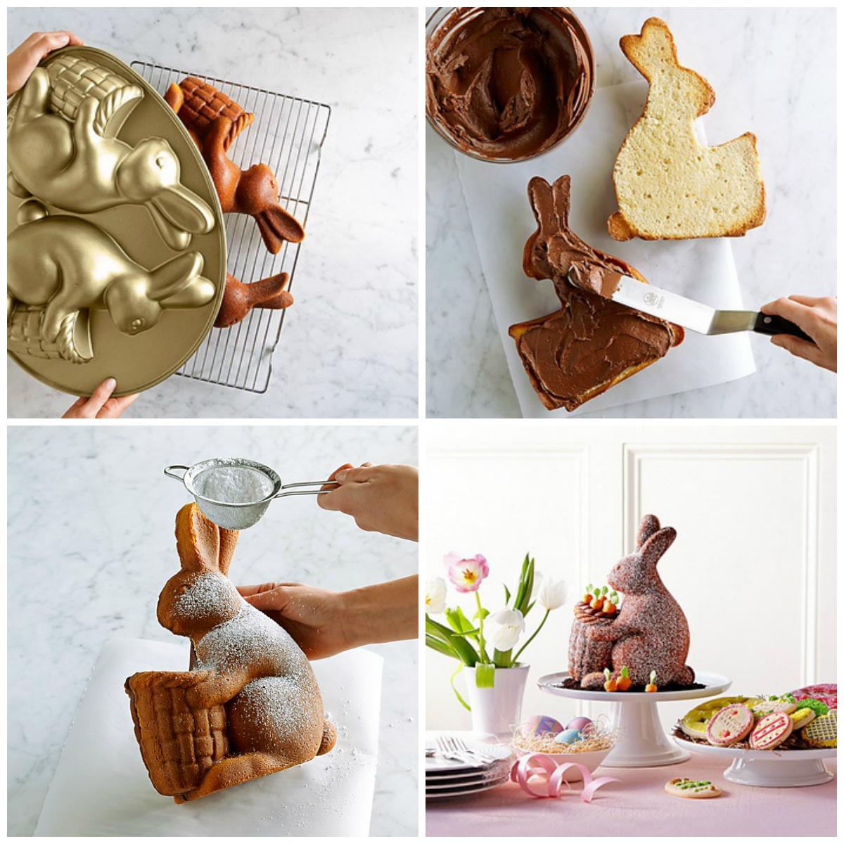 форма для выпечки пасхальный заяц