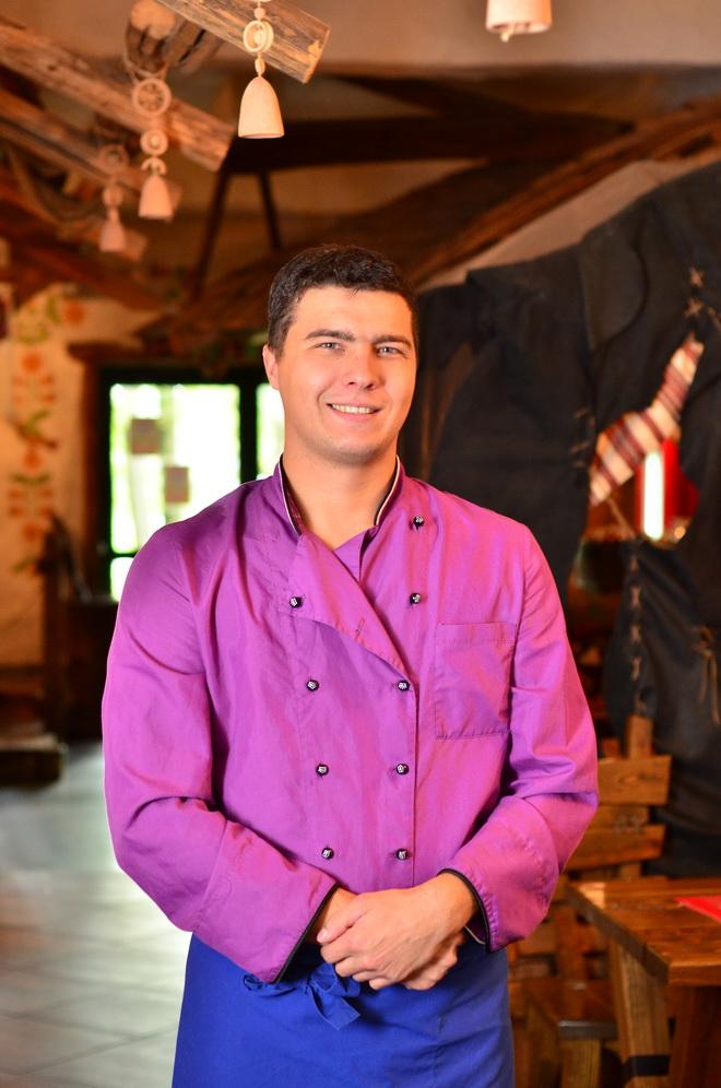 Сергей Петренев, заведующий производством ресторана «Подворье»