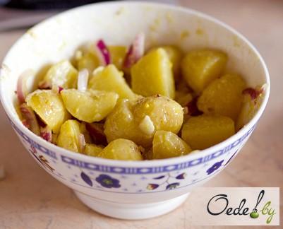 Картофельный салат фото 3