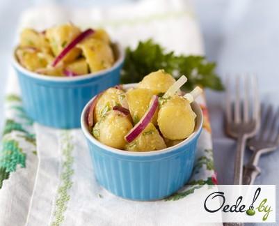 Картофельный салат фото 5
