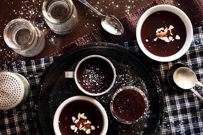 рецепт шоколадного пудинга