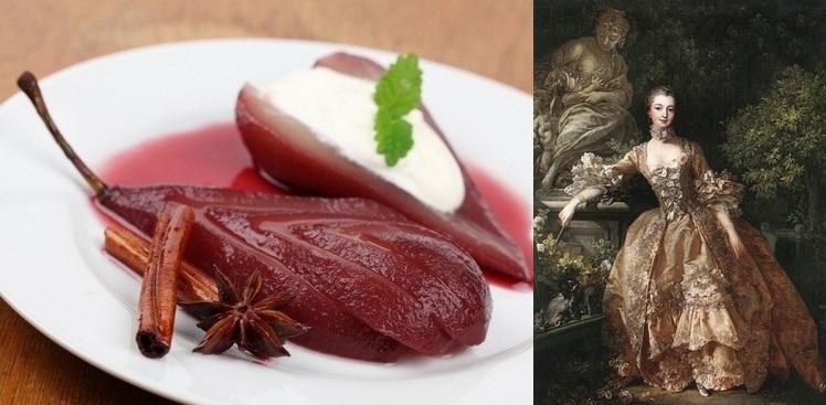 Грушевый десерт Жанны Антуанетты де Помпадур