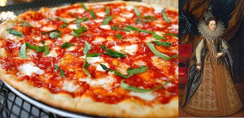 Пицца «Маргарита» в честь Маргариты Савойской, супруги итальянского короля