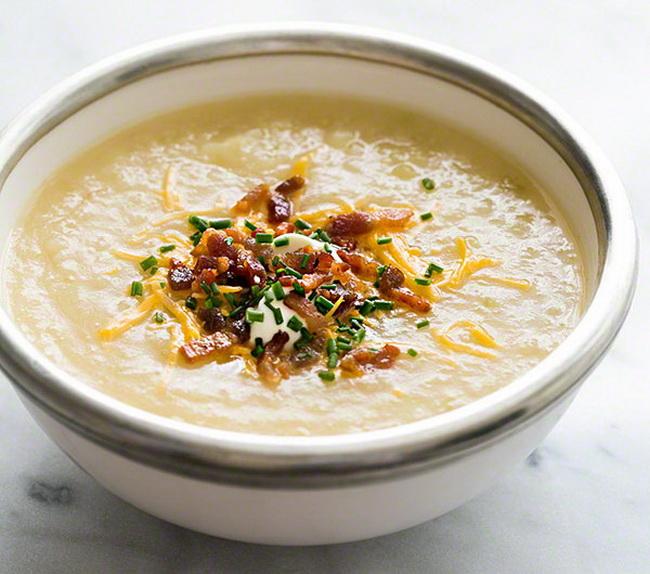 Запеченный картофельный суп