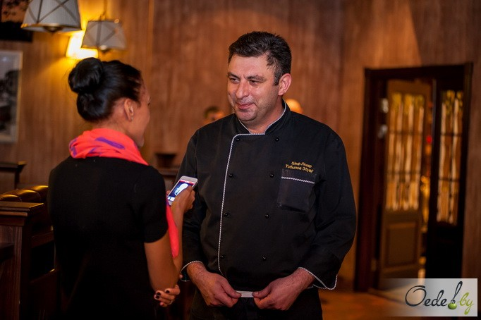 Эдуард Тибилов, шеф-повар паба «Пивняры»